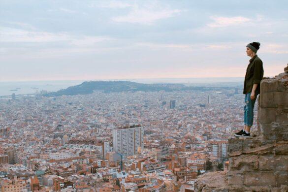 8 Fantastiske Udsigtspunkter i Barcelona - Bunkers del Carmel - Rejs Dig Lykkelig