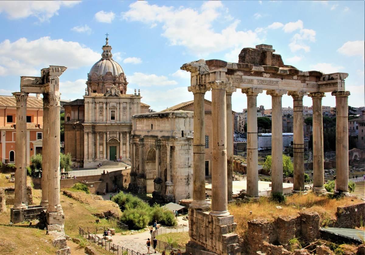 9 Fantastiske Udsigtspunkter i Rom - Forum Romanum - Rejs Dig Lykkelig