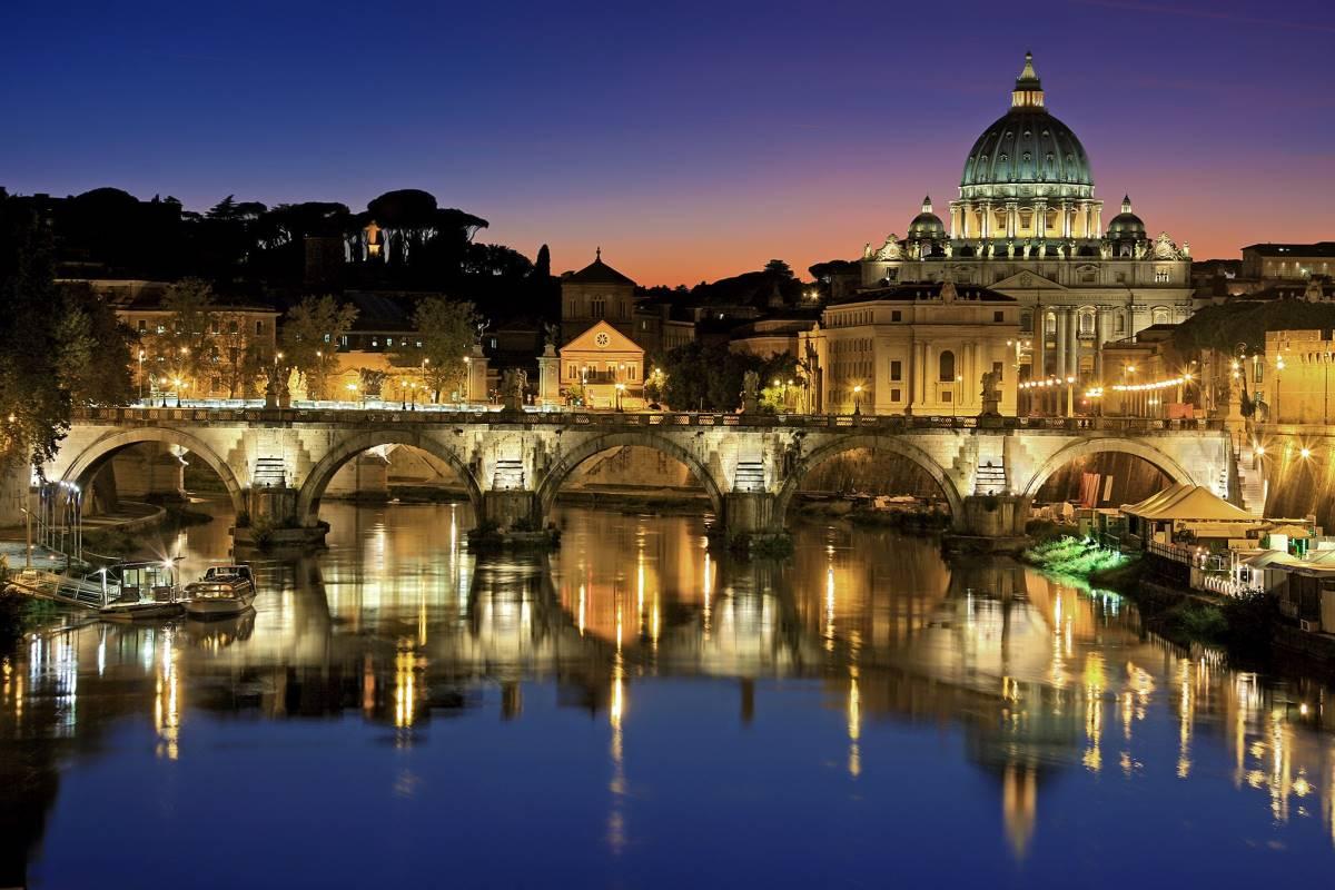 Udsigten fra Ponte Umberto I - Rejs Dig Lykkelig