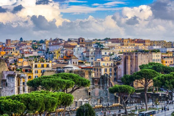 9 Fantastiske Udsigtspunkter i Rom - Terrazza delle Quadrighe - Rejs Dig Lykkelig
