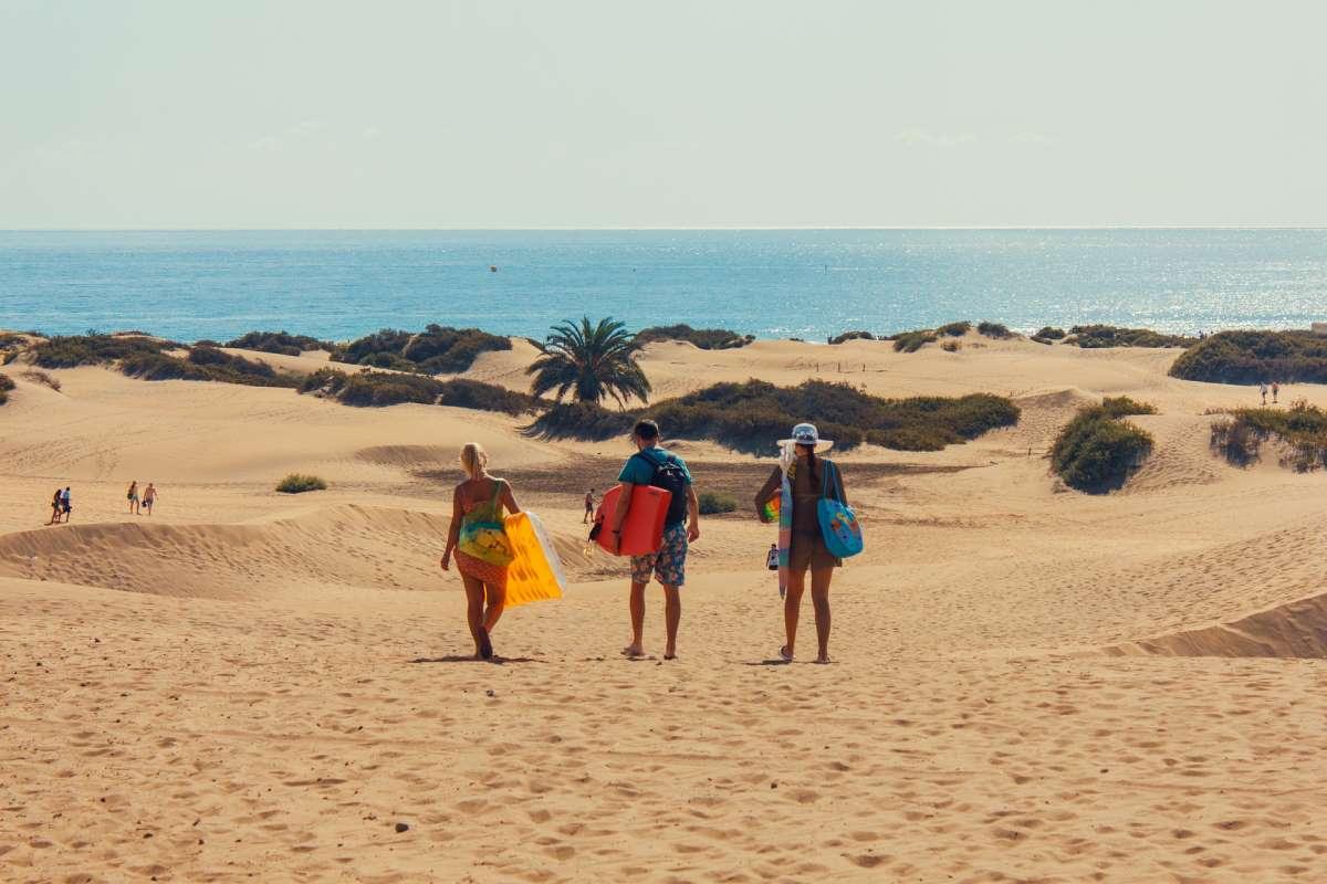 De Bedste Steder at Bo på Gran Canaria - Playa del Ingles - Rejs Dig Lykkelig