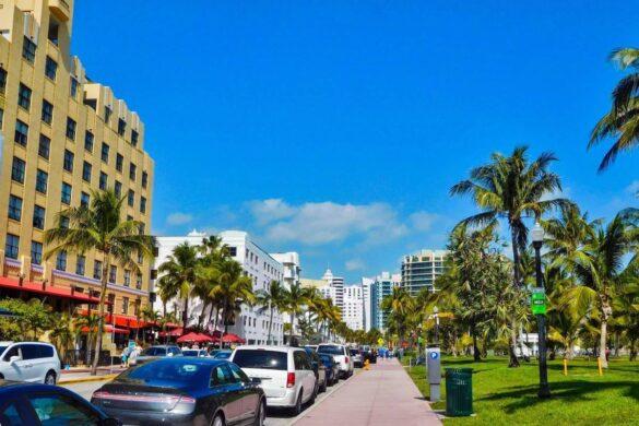 Rejseforslag Road Trip Rute i Florida - Miami Beach - Rejs Dig Lykkelig