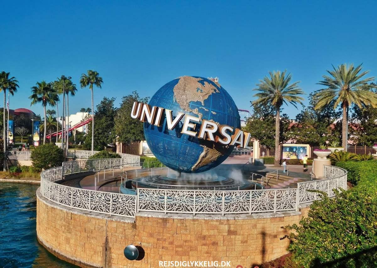 Rejseforslag Road Trip Rute i Florida - Universal Studios Florida - Rejs Dig Lykkelig