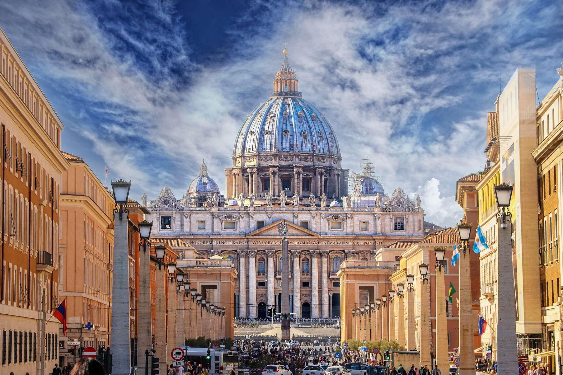 Vatikanstaten - Rejs Dig Lykkelig