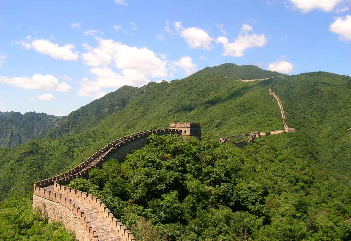 12 Af Verdens Mest Ikoniske Vartegn - Den Kinesiske Mur - Rejs Dig Lykkelig