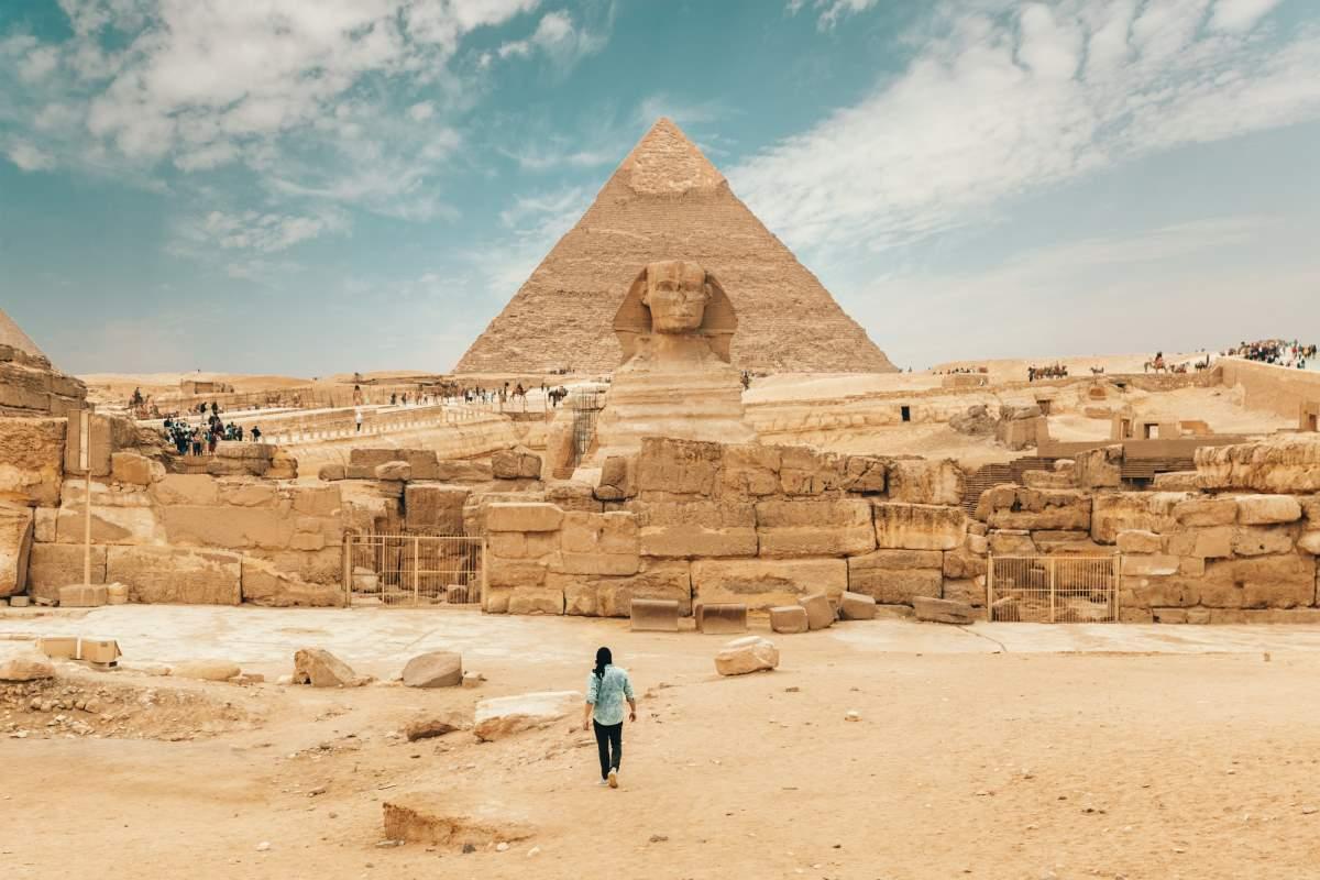 Pyramiderne i Giza - Rejs Dig Lykkelig