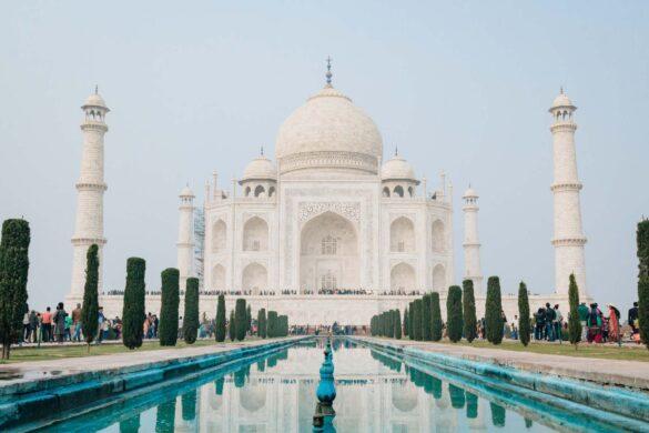 12 Af Verdens Mest Ikoniske Vartegn - Taj Mahal - Rejs Dig Lykkelig
