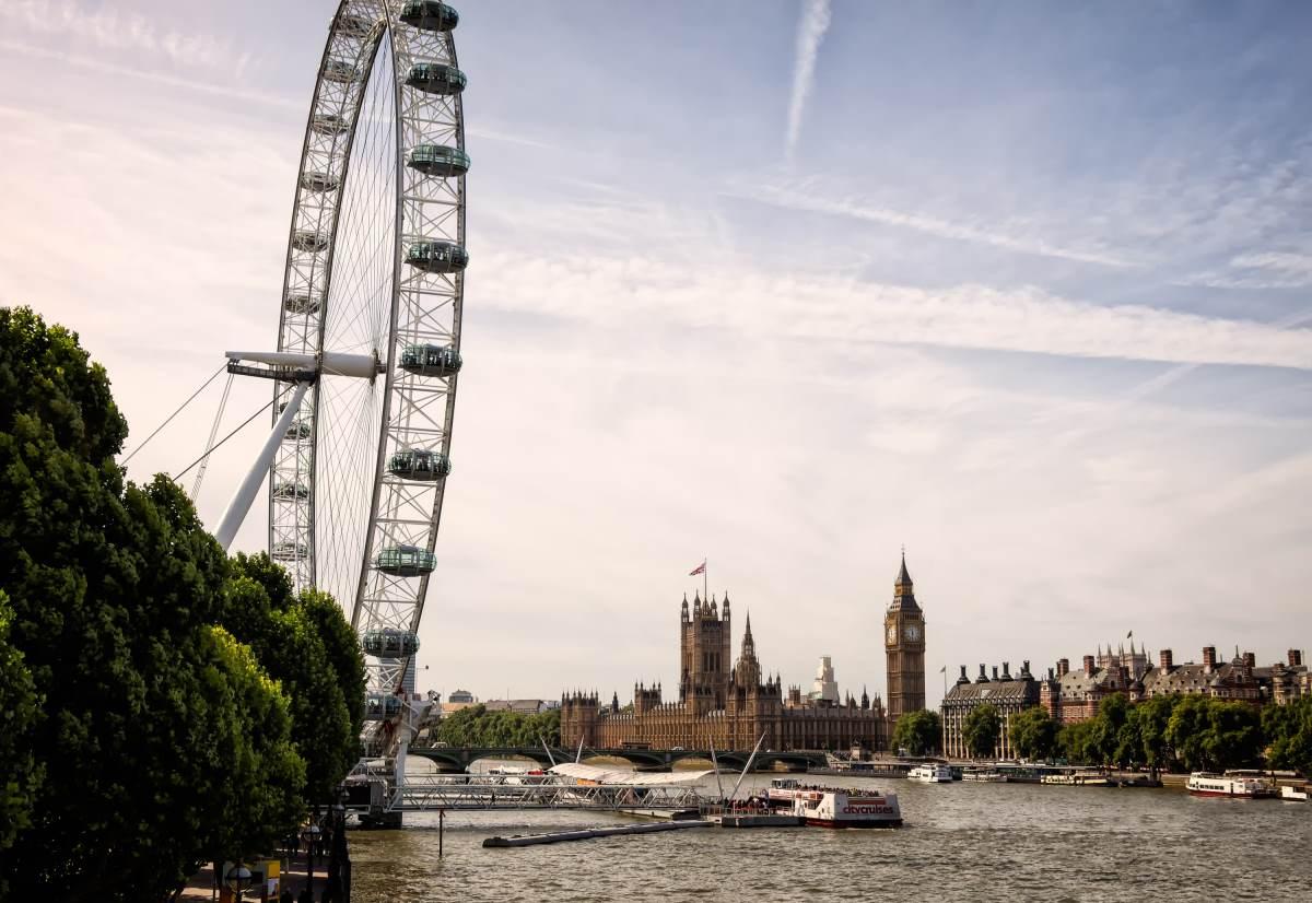 14 Udsigtspunkter i London - London Eye - Rejs Dig Lykkelig