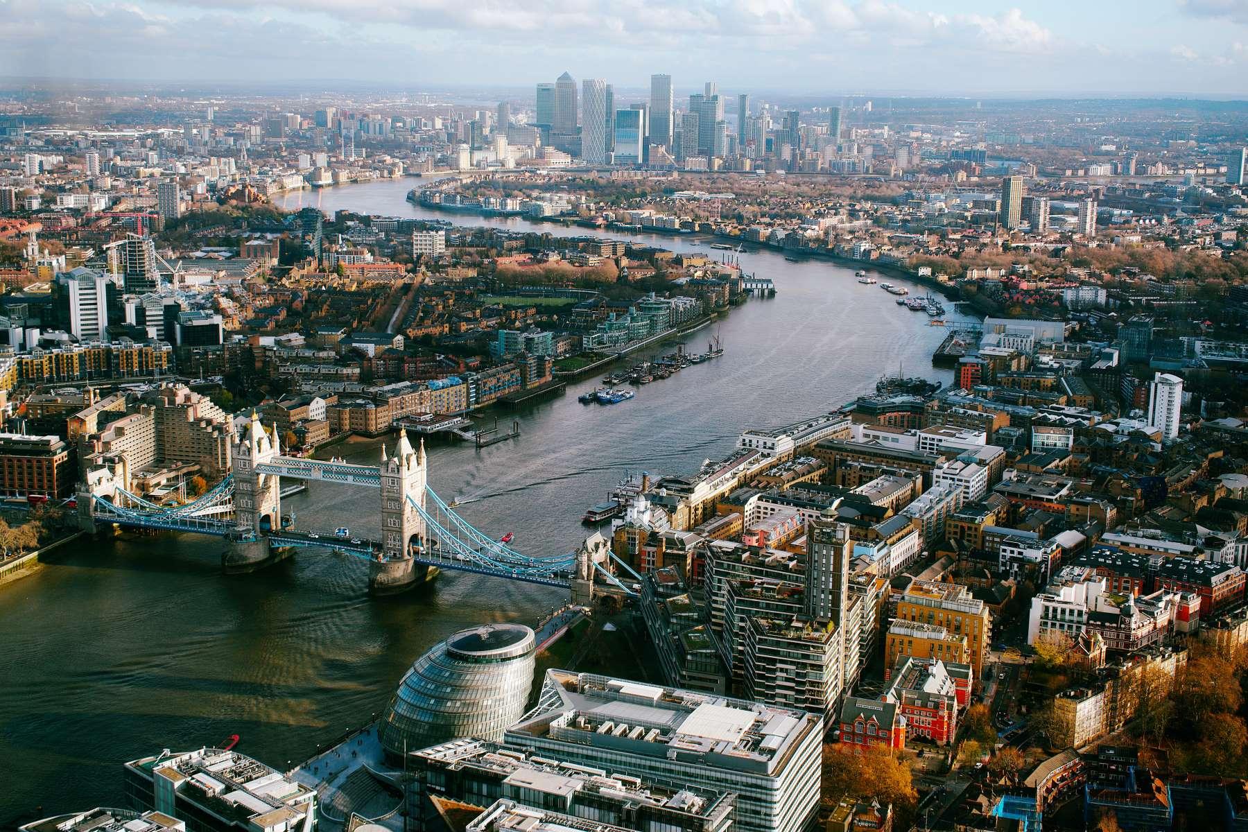 14 Udsigtspunkter i London - Rejs Dig Lykkelig