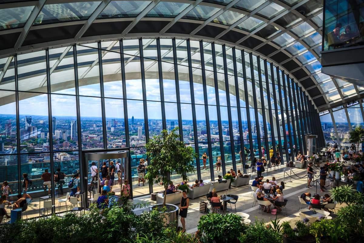 14 Udsigtspunkter i London - Sky Garden - Rejs Dig Lykkelig