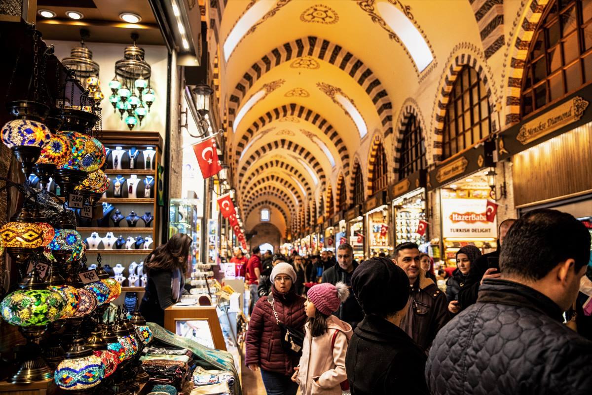 Europas Bedste Shoppingbyer - Grand Bazaar i Istanbul - Rejs Dig Lykkelig